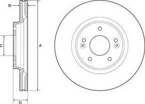 FREMAX BD-0578 - Bremžu diski interparts.lv