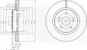 TRW DF7371S - Bremžu diski interparts.lv