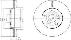 RIDER RD.3325.DF4877 - Bremžu diski interparts.lv