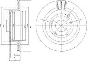 Nipparts J3311027 - Bremžu diski interparts.lv