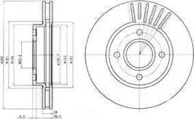 A.B.S. 16190 - Bremžu diski interparts.lv