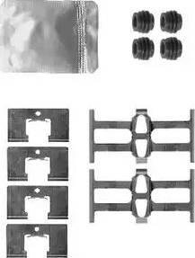 Delphi LX0562 - Piederumu komplekts, Disku bremžu uzlikas interparts.lv