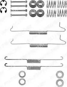 Delphi LY1043 - Piederumu komplekts, Bremžu loki interparts.lv