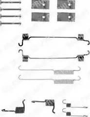 Delphi LY1119 - Piederumu komplekts, Bremžu loki interparts.lv