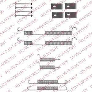 Delphi LY1355 - Piederumu komplekts, Bremžu loki interparts.lv