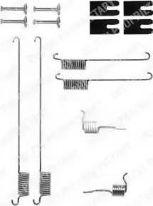 Delphi LY1323 - Piederumu komplekts, Bremžu loki interparts.lv