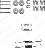 Delphi LY1262 - Piederumu komplekts, Bremžu loki interparts.lv