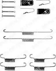 Delphi LY1203 - Piederumu komplekts, Bremžu loki interparts.lv