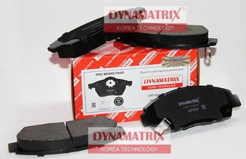 Dynamatrix DBP904 - Bremžu uzliku kompl., Disku bremzes interparts.lv