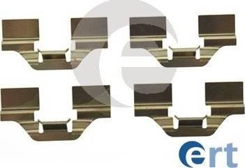 ERT 420 091 - Piederumu komplekts, Disku bremžu uzlikas interparts.lv