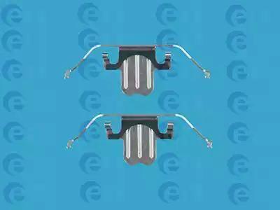 ERT 420054 - Piederumu komplekts, Disku bremžu uzlikas interparts.lv