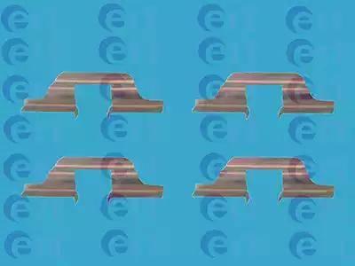 ERT 420068 - Piederumu komplekts, Disku bremžu uzlikas interparts.lv