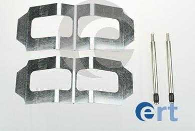 ERT 420063 - Piederumu komplekts, Disku bremžu uzlikas interparts.lv