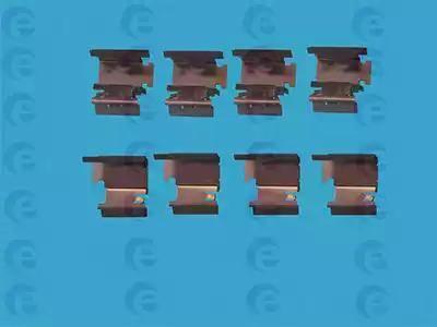 ERT 420008 - Piederumu komplekts, Disku bremžu uzlikas interparts.lv