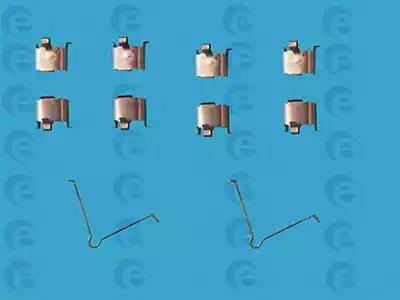 ERT 420015 - Piederumu komplekts, Disku bremžu uzlikas interparts.lv