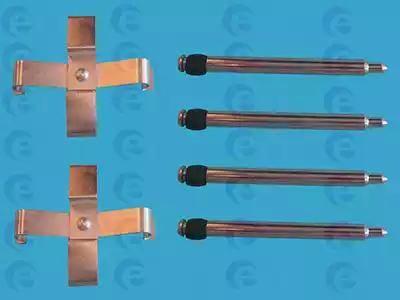 ERT 420018 - Piederumu komplekts, Disku bremžu uzlikas interparts.lv