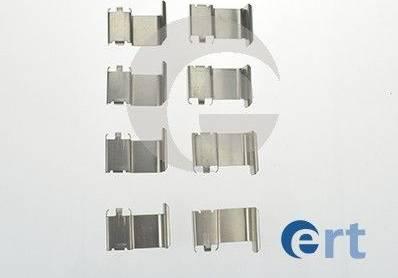 ERT 420085 - Piederumu komplekts, Disku bremžu uzlikas interparts.lv