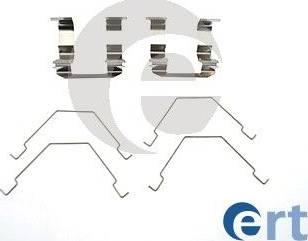 ERT 420081 - Piederumu komplekts, Disku bremžu uzlikas interparts.lv