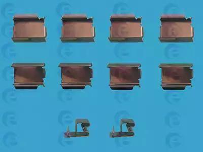 ERT 420039 - Piederumu komplekts, Disku bremžu uzlikas interparts.lv