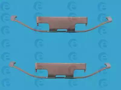 ERT 420029 - Piederumu komplekts, Disku bremžu uzlikas interparts.lv