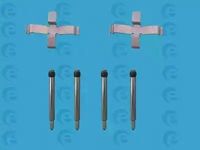 ERT 420025 - Piederumu komplekts, Disku bremžu uzlikas interparts.lv