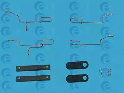 ERT 420027 - Piederumu komplekts, Disku bremžu uzlikas interparts.lv