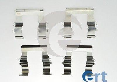 ERT 420076 - Piederumu komplekts, Disku bremžu uzlikas interparts.lv