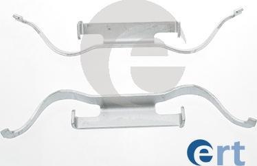 ERT 420078 - Piederumu komplekts, Disku bremžu uzlikas interparts.lv