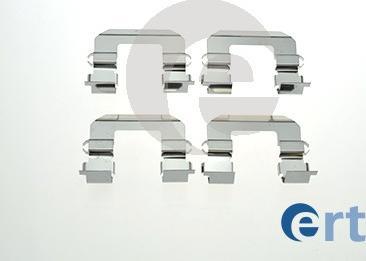 ERT 420199 - Piederumu komplekts, Disku bremžu uzlikas interparts.lv