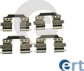 ERT 420198 - Piederumu komplekts, Disku bremžu uzlikas interparts.lv