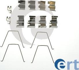 ERT 420192 - Piederumu komplekts, Disku bremžu uzlikas interparts.lv