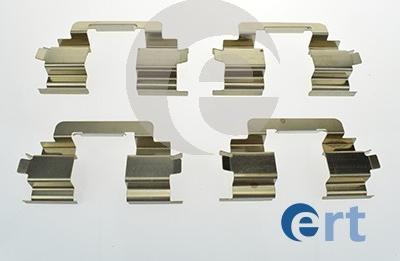 ERT 420142 - Piederumu komplekts, Disku bremžu uzlikas interparts.lv