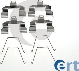 ERT 420158 - Piederumu komplekts, Disku bremžu uzlikas interparts.lv