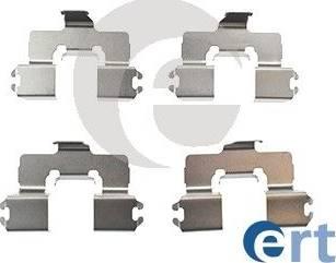 ERT 420160 - Piederumu komplekts, Disku bremžu uzlikas interparts.lv