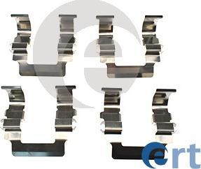 ERT 420109 - Piederumu komplekts, Disku bremžu uzlikas interparts.lv