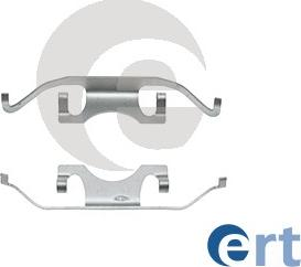ERT 420106 - Piederumu komplekts, Disku bremžu uzlikas interparts.lv