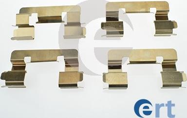 ERT 420114 - Piederumu komplekts, Disku bremžu uzlikas interparts.lv