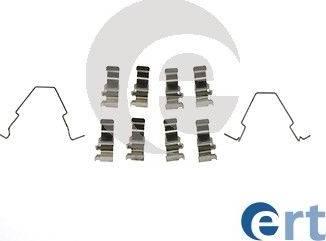 ERT 420181 - Piederumu komplekts, Disku bremžu uzlikas interparts.lv