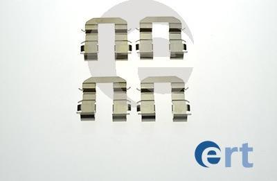 ERT 420187 - Piederumu komplekts, Disku bremžu uzlikas interparts.lv