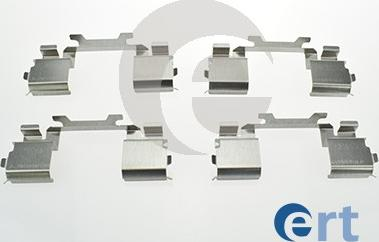 ERT 420138 - Piederumu komplekts, Disku bremžu uzlikas interparts.lv