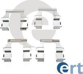 ERT 420132 - Piederumu komplekts, Disku bremžu uzlikas interparts.lv