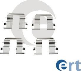 ERT 420128 - Piederumu komplekts, Disku bremžu uzlikas interparts.lv