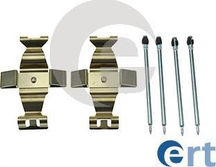 ERT 420172 - Piederumu komplekts, Disku bremžu uzlikas interparts.lv