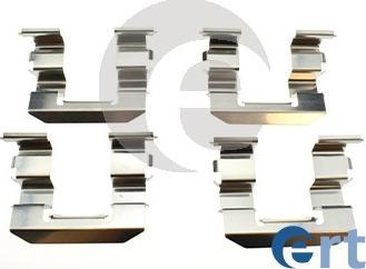 ERT 420352 - Piederumu komplekts, Disku bremžu uzlikas interparts.lv