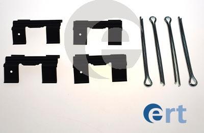ERT 420360 - Piederumu komplekts, Disku bremžu uzlikas interparts.lv