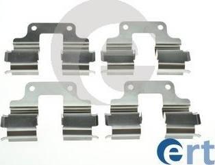 ERT 420305 - Piederumu komplekts, Disku bremžu uzlikas interparts.lv