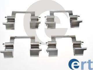 ERT 420306 - Piederumu komplekts, Disku bremžu uzlikas interparts.lv