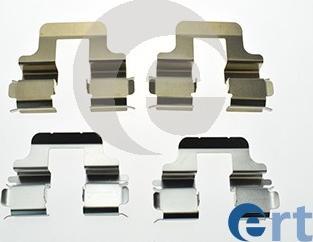 ERT 420301 - Piederumu komplekts, Disku bremžu uzlikas interparts.lv