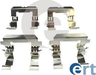 ERT 420302 - Piederumu komplekts, Disku bremžu uzlikas interparts.lv