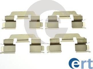 ERT 420314 - Piederumu komplekts, Disku bremžu uzlikas interparts.lv